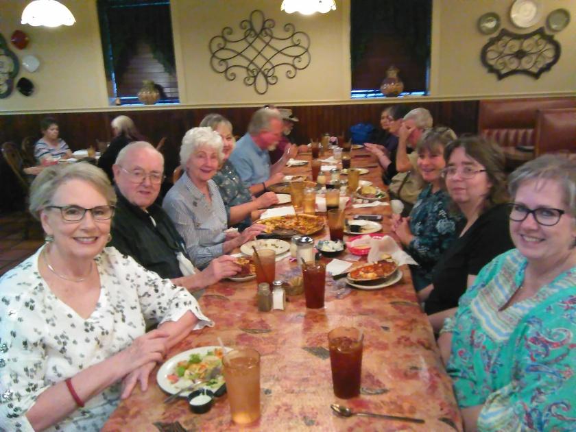 Angelo's full table
